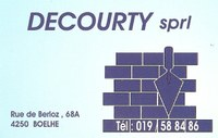 Decourty sprl